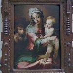 """Madonna and child with infant John the Baptist "" by Domenico Beccafumi"