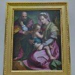 """Holy Family"" by Andrea del Sarto"
