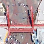 Golden Gate Bridge replica (Disneyland) (Google Maps)