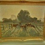 """Spring frost"" by Elioth Gruner (StreetView)"