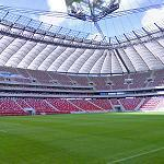 National Stadium in Warsaw - inside (StreetView)