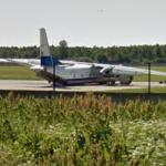 Antonov An-26- Plane that Crashed on Ülemiste Lake (2010) (StreetView)