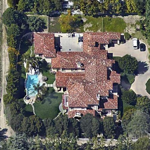 Rob cavallo 39 s house in hidden hills ca google maps for E house