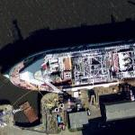 'Glas Dowr' Floating Production, Storage & Offloading (FPSO) ship (Google Maps)