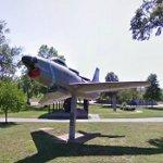North American F-86 Sabre (StreetView)