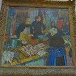 """""""Fishmarket, Dieppe"""" by Edward Le Bas"""
