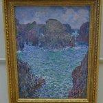 """Port-Goulphar, Belle-Île"" by Claude Monet"