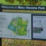 Map of Mary Stevens Park
