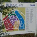 Map of Hillington Park