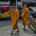 Buddhist Monks (StreetView)