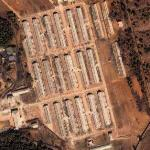Secure Korean military camp (Google Maps)