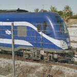 Israel Railways locomotive (StreetView)
