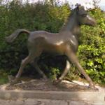 Statue of a horse (StreetView)