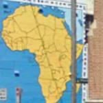 Africa mural