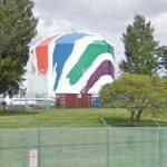 Mural in a Gas Tank (StreetView)