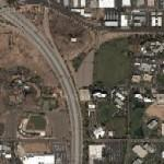Broadway Curve on Interstate 10 (Google Maps)