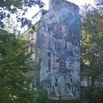 Fitzrovia Mural (StreetView)