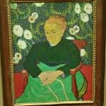 'Madame Roulin Rocking the Cradle (La Berceuse)' by Vincent van Gogh
