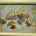'Grapes, Lemons, Pears, and Apples' by Vincent van Gogh