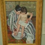 'The Child's Bath' by Mary Cassatt