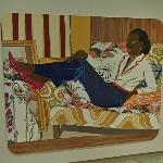 'Portrait of Mnonja' by Mickalene Thomas