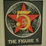 'The Figure Five' by Robert Indiana