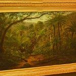 """Ferntree Gully in the Dandenong Ranges"" by Eugene Von Guerard"