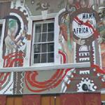 """""""Mama Africa"""" mural"""