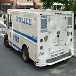 NYPD Prisoner Van