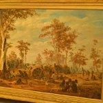 """Adelaide, a tribe of natives on the banks of the river Torrens"" by Alexander Schramm (StreetView)"
