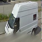Loomis armored van