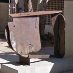 'Back Cover Flat' by Anthony Caro (StreetView)