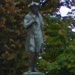 Melchiorre Delfico statue