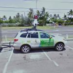Hawaiian Streetview Car