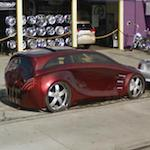 Alpine Electronics USA 2006 Mercedes Benz R500 Concept Car (StreetView)