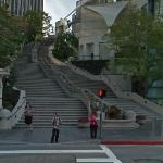 'Bunker Hill Steps' by Lawrence Halprin (StreetView)