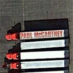 Paul McCartney tour vehicle