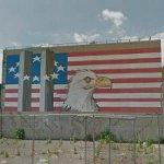 9/11 mural by Scott LoBaido (StreetView)