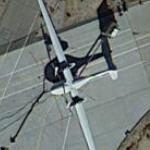Boeing Phantom Eye spy plane (Google Maps)