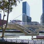 Zubizuri (Campo Volantin Bridge) by Santiago Calatrava