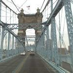 John A. Roebling Suspension Bridge (StreetView)