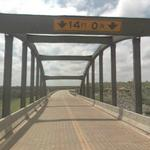 Smoky Hill River K-147 Bridge (StreetView)