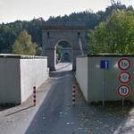 Stádlec Chain Bridge (StreetView)