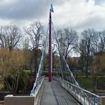 Sarre River Footbridge (StreetView)