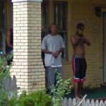Welcome Google! (armed man) (StreetView)