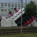 Titanic Inflatable Slide (StreetView)