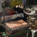 Kabobs on the grill (StreetView)