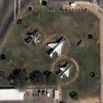 Skyhawk, Phantom, and Harrier on static display (Google Maps)