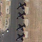 Patriots Jet Team at airshow (Google Maps)