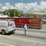 Ferrari trailer